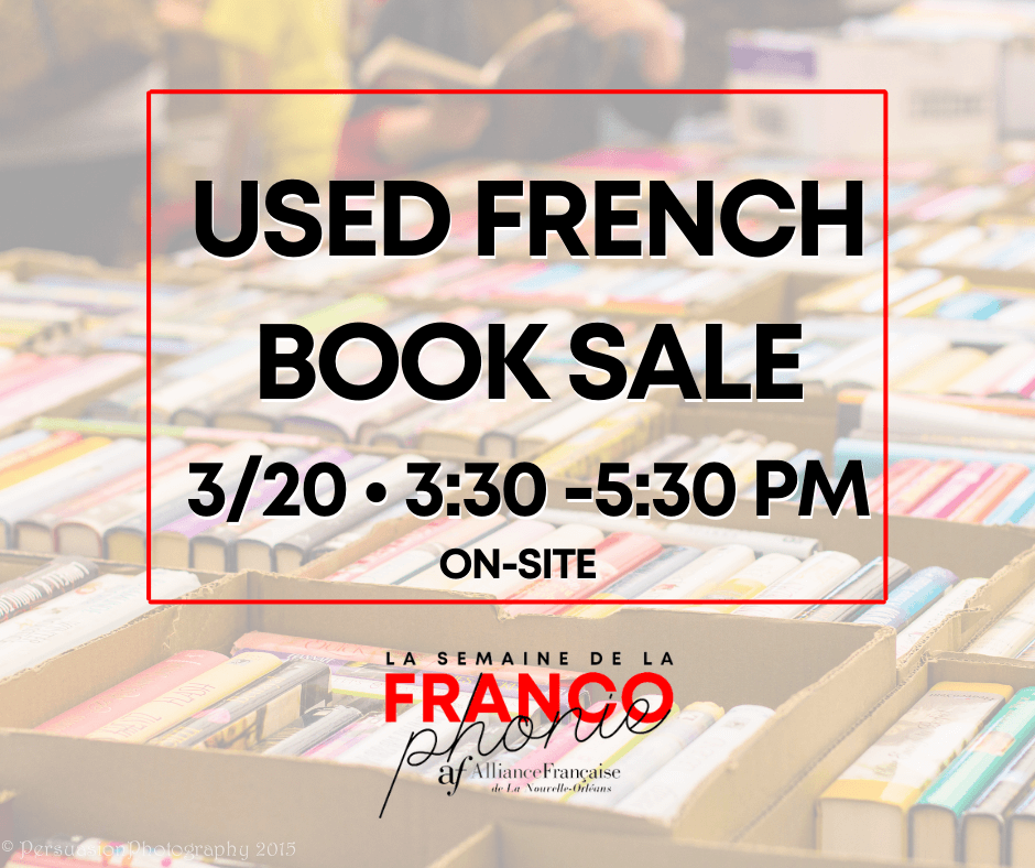 French Book Sale